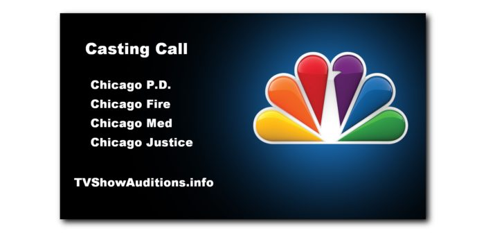 Chicago open casting call for NBC TV shows 1